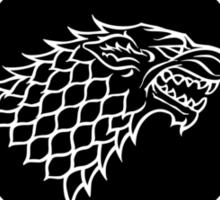 Starkbucks - Game of thrones house stark parody Sticker