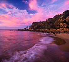 sunset @ 1770 - Qld. by Tony Middleton
