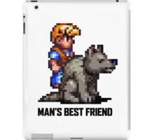 Man's Best Friend iPad Case/Skin