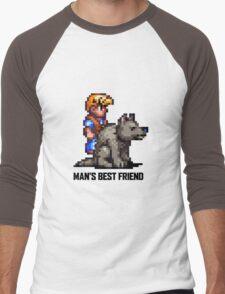 Man's Best Friend Men's Baseball ¾ T-Shirt