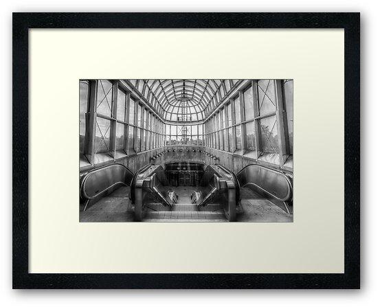 Yorkdale Subway Station 2 by John Velocci