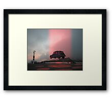 The Dissapearing Framed Print