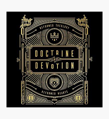Doctrine and Devotion Photographic Print