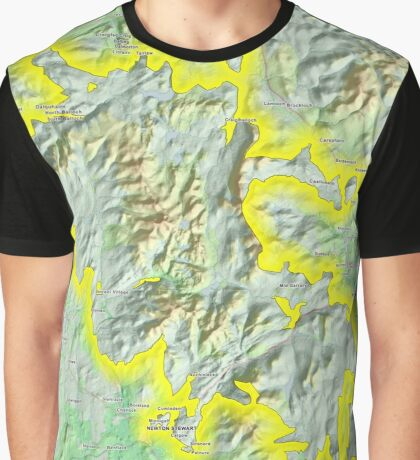 Galloway Forest National Park Graphic T-Shirt