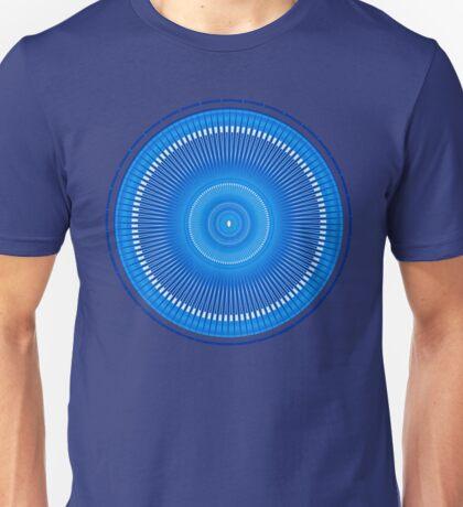Striped Mandala Pattern Unisex T-Shirt