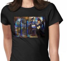 Dancing with the Ravens Womens Fitted T-Shirt