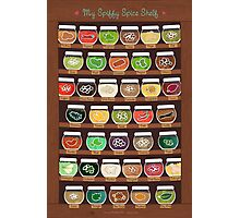 My Spiffy Spice Shelf Photographic Print