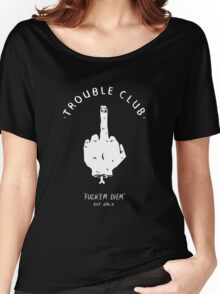 Trouble Club Women's Relaxed Fit T-Shirt