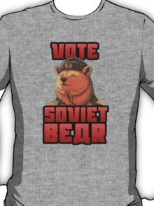 Vote for soviet bear T-Shirt