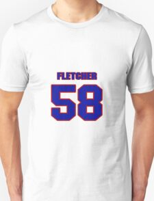 National baseball player Paul Fletcher jersey 58 T-Shirt
