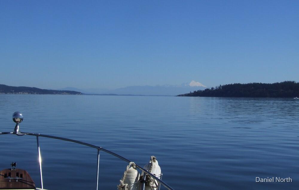Puget Sound at Mr. Baker by Daniel North
