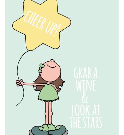 Shut up & sparkle! Sticker
