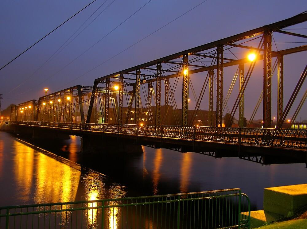 6th St. Historical Bridge angled by Kerri Kenel