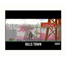 The Last Of Us Demastered - Bills Town Art Print