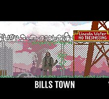 The Last Of Us Demastered - Bills Town by Christian Geldart