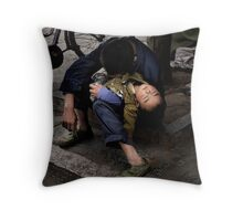 I'm so tired, I haven't slept a wink.. Throw Pillow