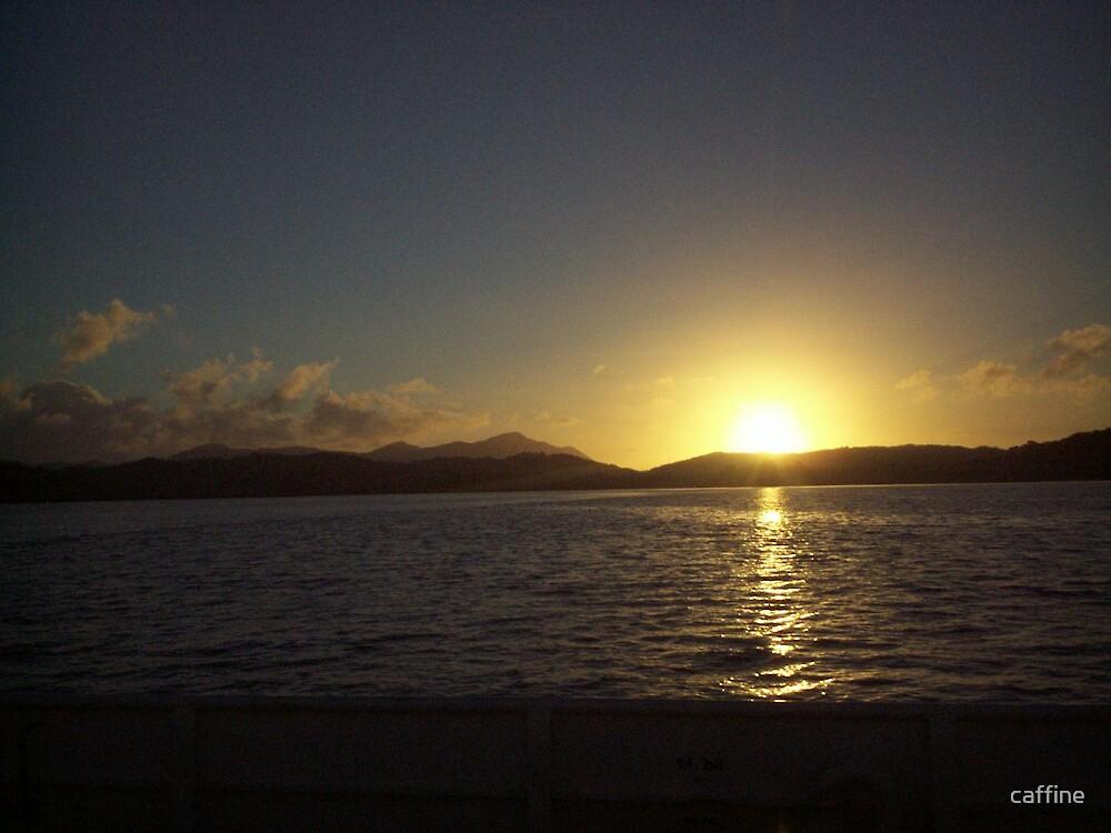 HOKIANGA SUNSET by caffine