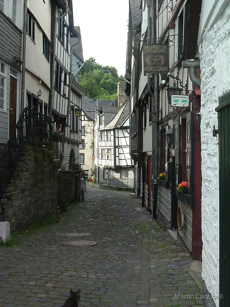 Monschau Street by Martin Campbell