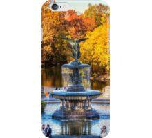 The Bethesda Fountain iPhone Case/Skin