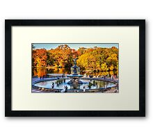 The Bethesda Fountain Framed Print