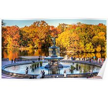 The Bethesda Fountain Poster