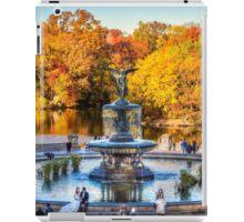 The Bethesda Fountain iPad Case/Skin