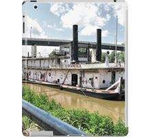Ready on the River iPad Case/Skin
