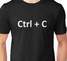 Ctrl C Ctrl V Copy Paste Twins Unisex T-Shirt