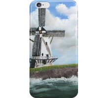 WindMill at stormy weather ..............kj's way.............. iPhone Case/Skin