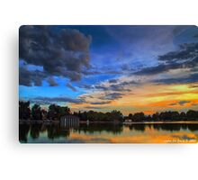 A Tranquil Summers Evening Canvas Print