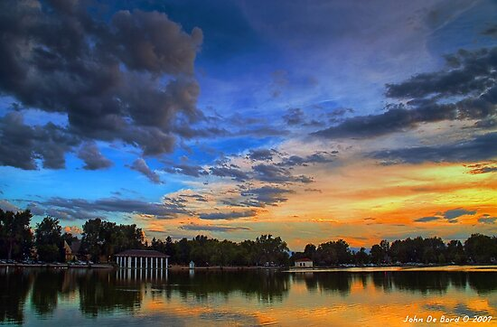 A Tranquil Summers Evening by John  De Bord Photography