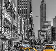 Yellow Cabs by MaxLemPhoto
