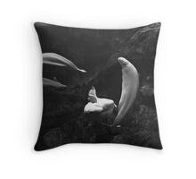4 Belugas Throw Pillow
