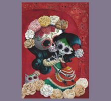 Mexican Skeletons Mother and Daughter Kids Clothes