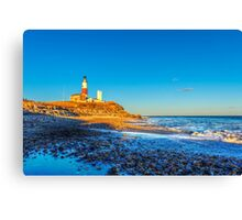 The Montauk Lighthouse  Canvas Print