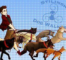 Stilinski Dog Walkers by onthemeander