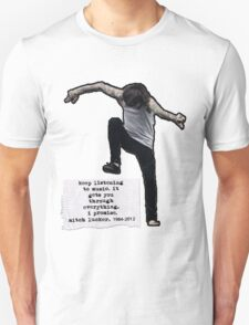 Keep listening to music Unisex T-Shirt
