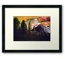 Ted Danson: Lord Eternal Framed Print