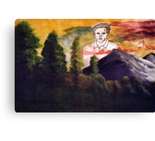 Ted Danson: Lord Eternal Canvas Print