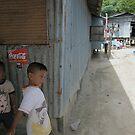 Village Kids by Mark Hayward