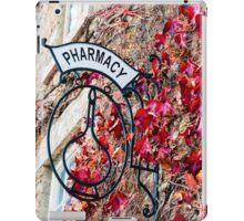 Old vintage Pharmacy sign iPad Case/Skin