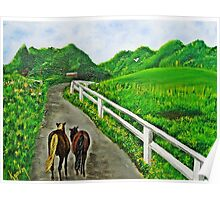 Just a Couple of Asses...Down On Oko's Farm Poster