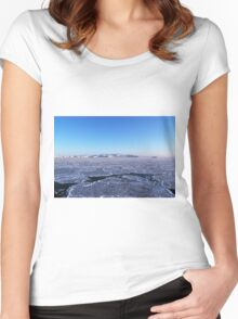 Sky and ice Women's Fitted Scoop T-Shirt