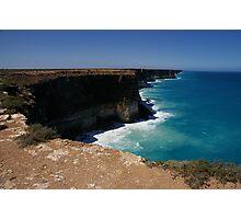 Bunda Cliffs, Great Australian Bight, South Australia Photographic Print