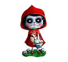 Dead Red Riding Hood Photographic Print