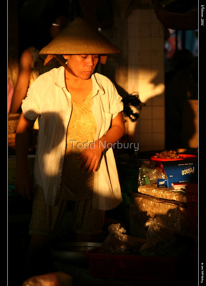 Market Morning by Todd Norbury
