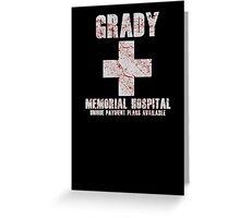 Grady Memorial Hospital Greeting Card