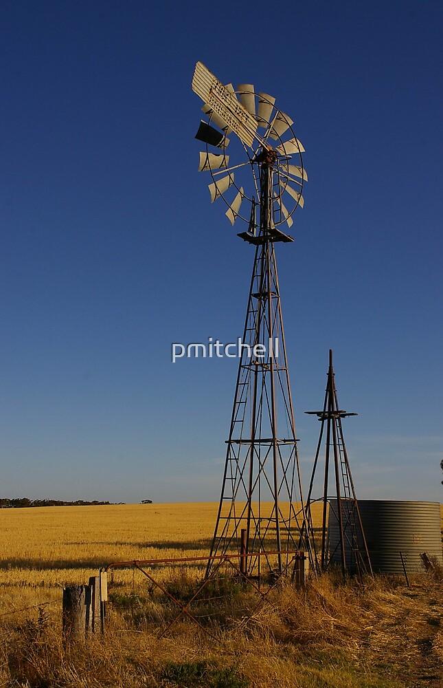 idle windmill by pmitchell