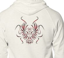 Wind and Fire Zipped Hoodie