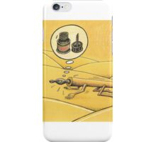 Water and ink iPhone Case/Skin